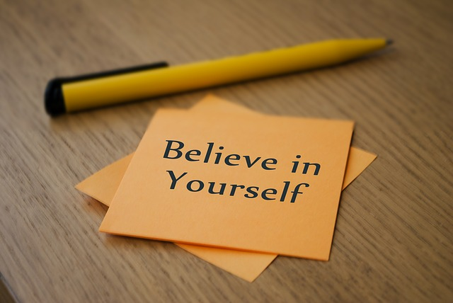 believe in yourself to become successful in life