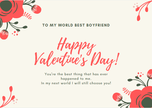 50 Best Valentine Messages For Boyfriend