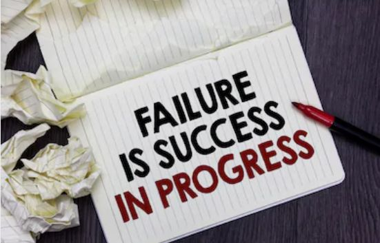 lessons learnt from failure
