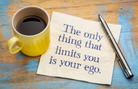 Keep your ego aside if you want to be successful